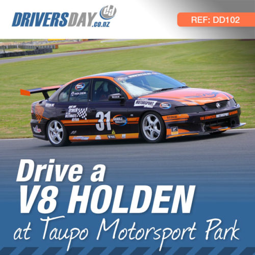 V8 Holden Driving Experience at Taupo Motorsport Park