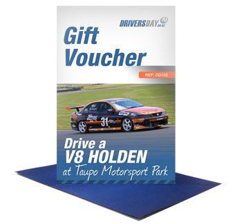 V8 Holden Driving Experience Gift Card